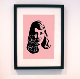 Sylvia Plath print from LucyLovesThis