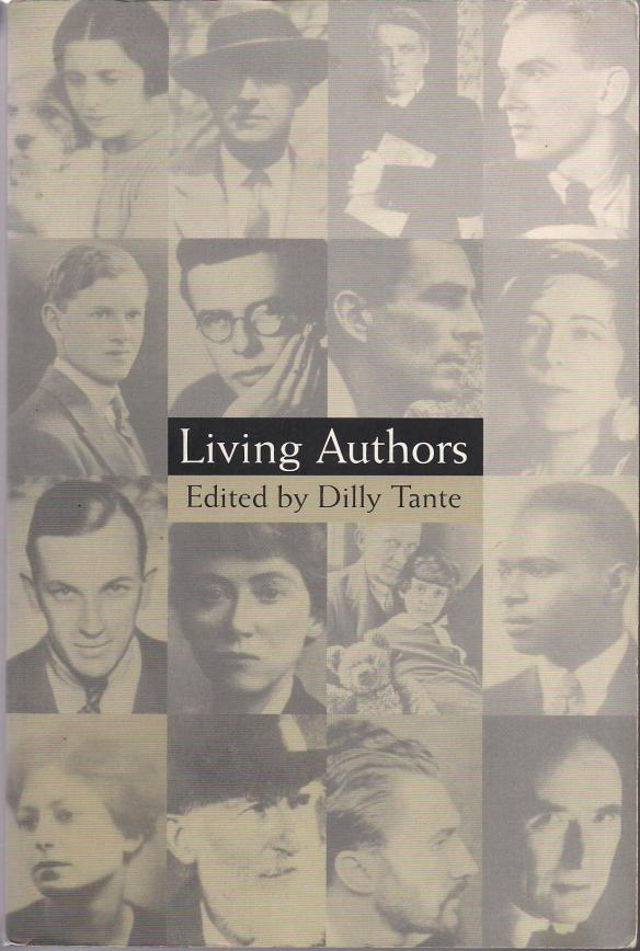 My copy of 'Living Authors' Edited by Dilly Tante