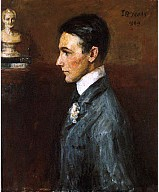 Portrait of Van Wyck Brooks, 1909