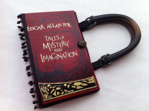 Tales of Mystery and Imagination Book Purse by Novel Creations