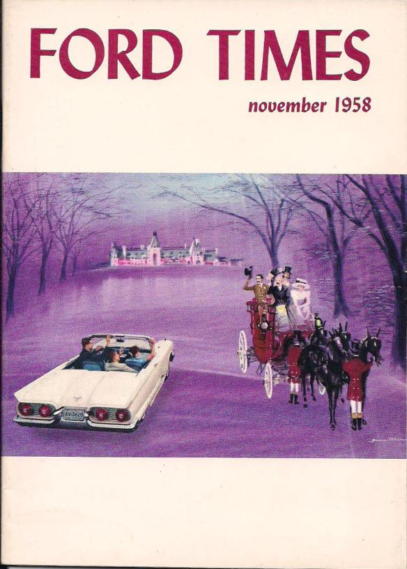 Ford Times, November 1958