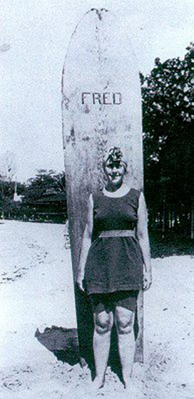 Agatha Christie in Hawaii, 1922