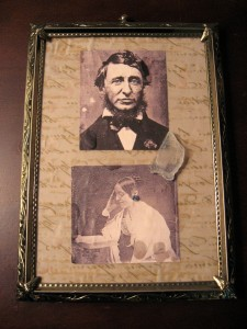 Thoreau and Fuller Photographs by Jenny Wren and the Articulator