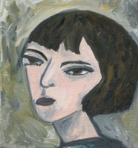 Dorothy Parker- Original Oil Painting by Vivienne Strauss
