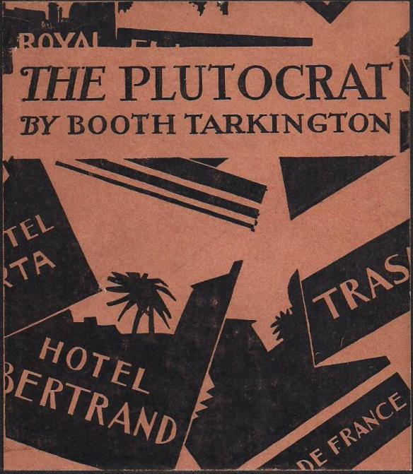 The Plutocrat by Booth Tarkington