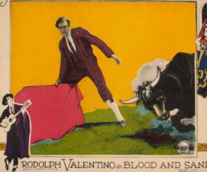 Valentino in Blood and Sand (1922), courtesy Wikimedia Commons