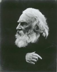 Henry Wadsworth Longfellow by Julia Margaret Cameron, 1868