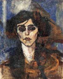 Maude Abrantes by Amedeo Modigliani, 1907