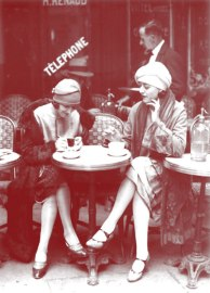 Solita Solano and Djuna Barnes in Paris, 1922. Look familiar?