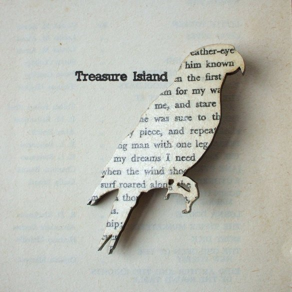 Treasure Island Parrot Brooch by House of Ismay
