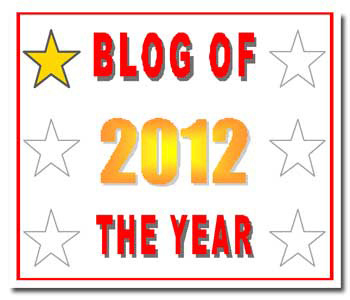 Blog of the Year 2012 One Star