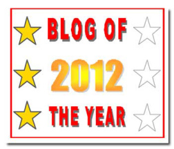Blog of the Year 3 Stars