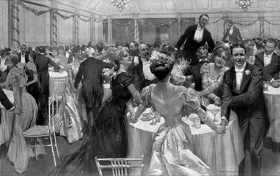 New Year's Eve 1906 at the Savoy. The Illustrated London News, Saturday January 5, 1907.
