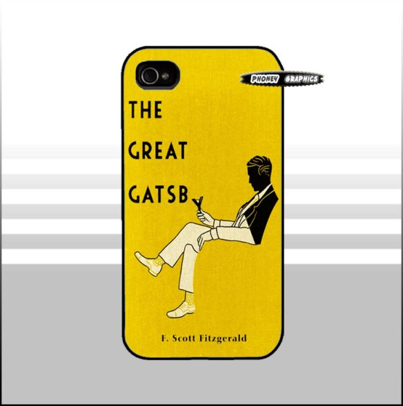 The Great Gatsby iPhone or Galaxy Case at Phoney Graphics