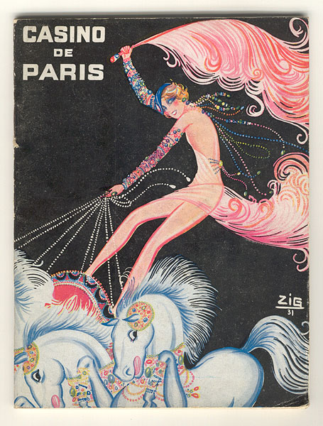 Casino de Paris by Louis Gaudin, 1931