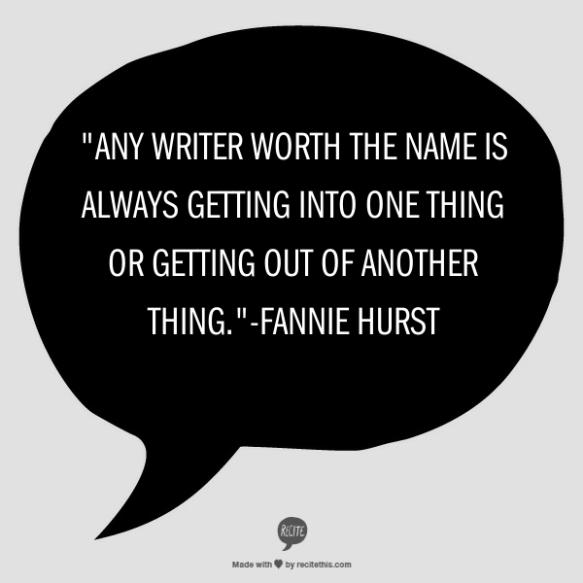 Fannie Hurst Quote