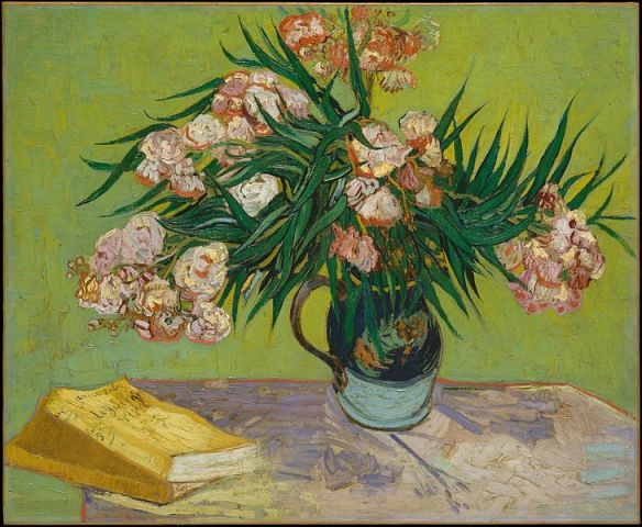 Oleanders by Vincent van Gogh, 1888
