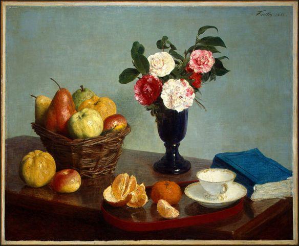 Still Life, 1866, Henri Fantin-Latour