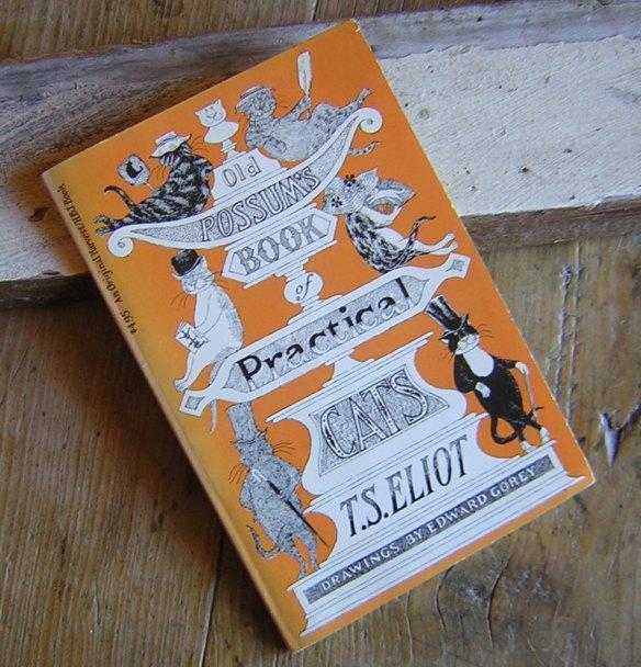 T.S. Eliot's Old Possum's Book of Practical Cats Illus. by Edward Gorey at Tante Annie's Maisonette