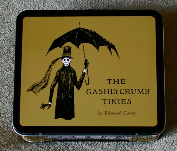 The Gashlycrumb Tinies Metal Lunch Box at The Vint Edge