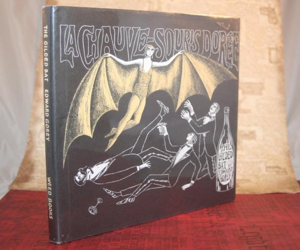The Gilded Bat by Edward Gorey at Rock and Sand