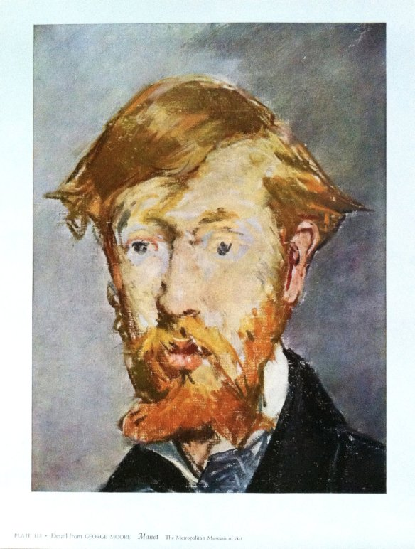 George Moore print by Edouard Manet at Hilo Books