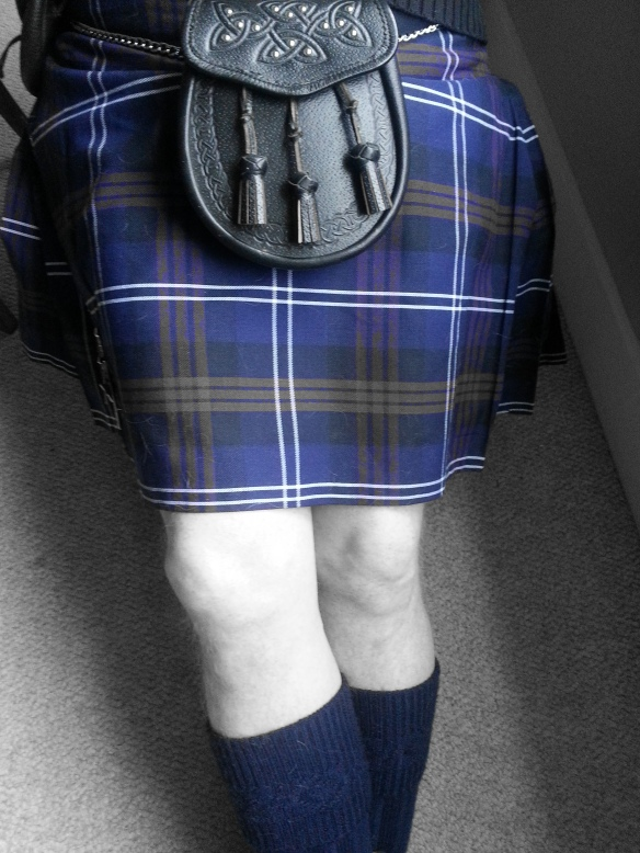 My kilted hottie honey.