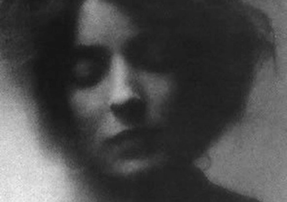 Mina Loy by Stephen Haweis. 1905.