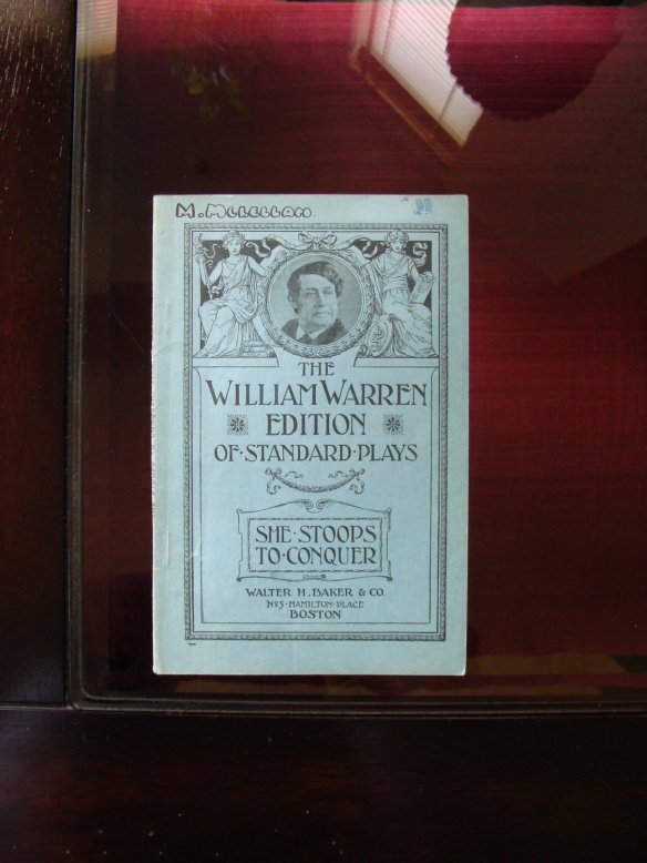 She Stoops to Conquer by Oliver Goldsmith at Deullinique