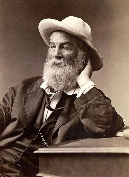 Walt Whitman by G. Frank E. Pearsall, 1872