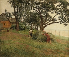 Summer Day (Young Oaks) by Nikolay Nikanorovich Dubovskoy, 1894
