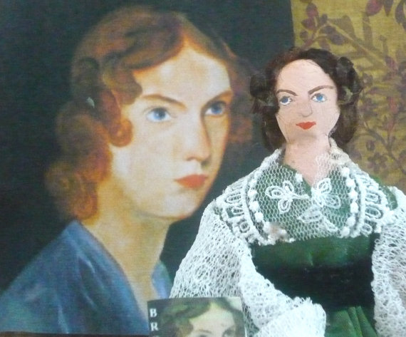 Anne Bronte Doll Miniature by Uneek Doll Designs