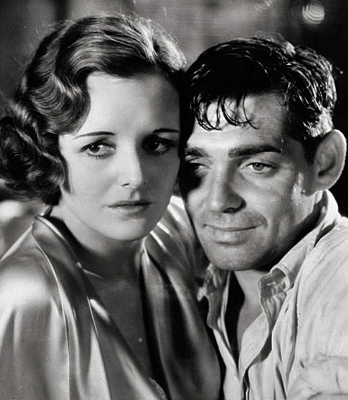 Mary Astor and Clark Gable in Red Dust, 1932