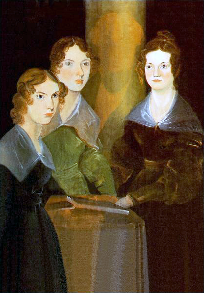The Sisters Bronte by their brother Branwell Bronte. Anne is on the left.