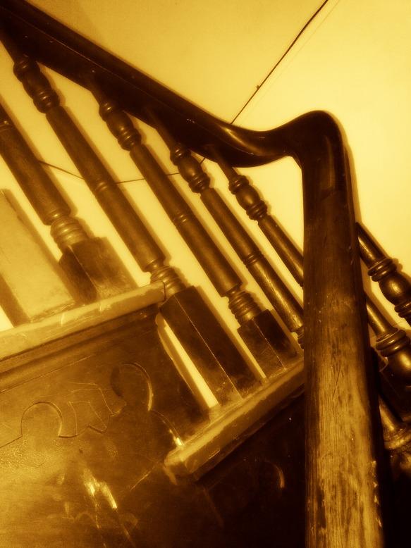 Staircase-Sepia