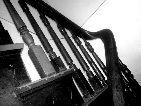Staircase-Black and White