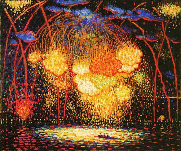 The Rocket by Edward Middleton Manigault, 1909