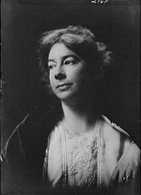Sara Teasdale, July 11, 1919, by Arnold Genthe.