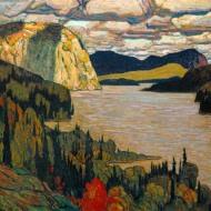 The Solemn Land, James E. H. MacDonald, 1921
