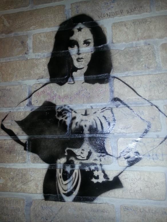 Wonder Woman Mural