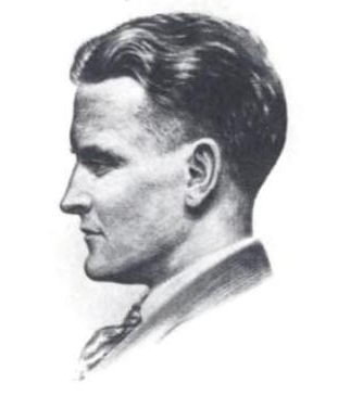F. Scott Fitzgerald by Gordon Bryant. Shadowland, 1921.