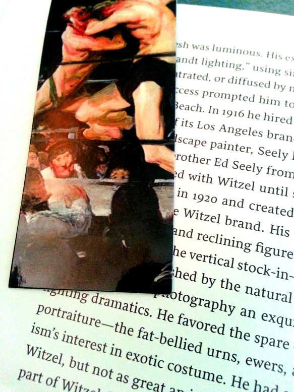 George Bellows Bookmark