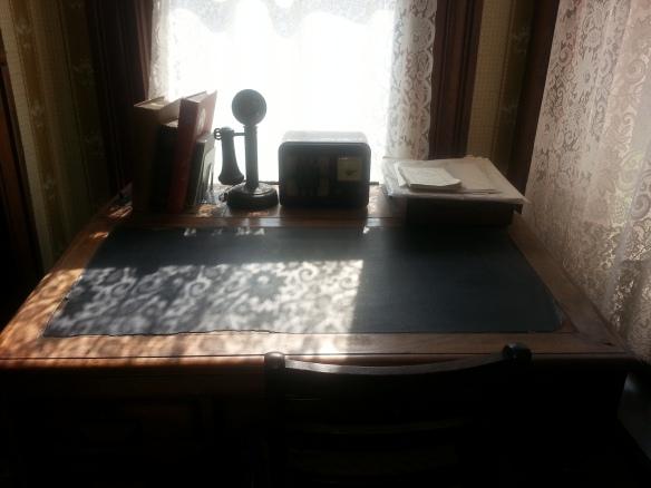 Desk. Thurber House. Columbus.