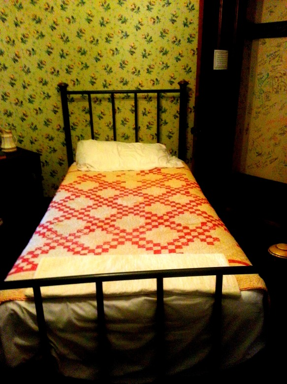 James Thurber's Bedroom.