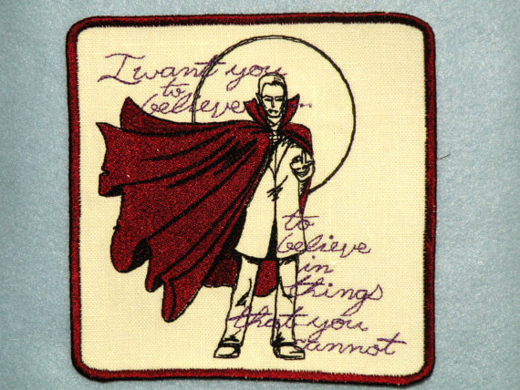 Bram Stoker's Dracula Iron On Patch by Totally Personal by Gerri