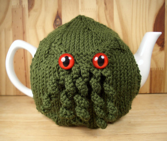 Cthulhu Tea Cosy by KnitNax