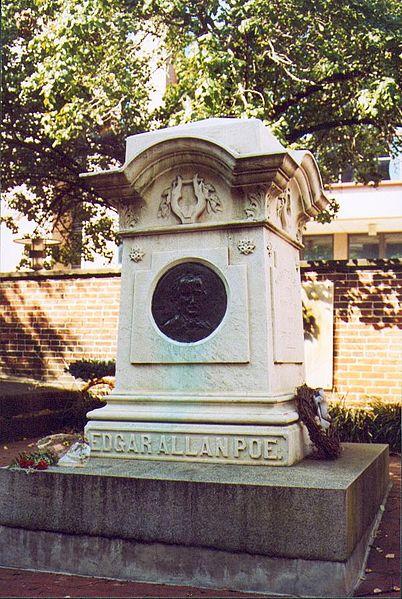Edgar Allan Poe's Grave, Baltimore.