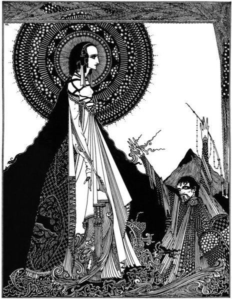 Ligeia by Harry Clarke, 1919