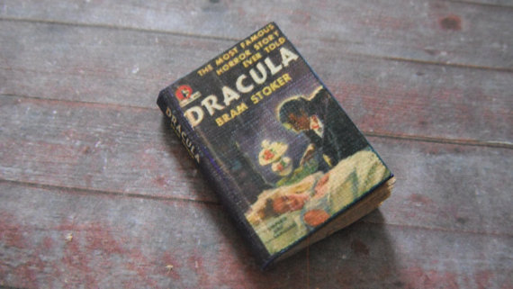Miniature Book-Dracula by L. Delaney
