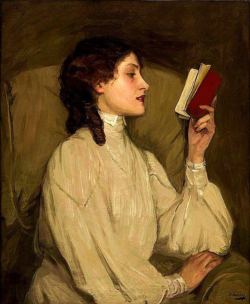 Miss Auras by Sir John Lavery, circa 1900